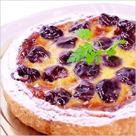 冷蔵 ホール ケーキ ホールケーキ でお届け バースデーケーキ ダークチェリー 誕生日 おすすめ特集 タルトバースデーケーキ フルーツタルト の 一部予約 φ18cm