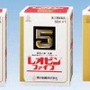 【第2類医薬品】「送料無料」「ポイント15倍」湧永 レオピンファイブW 60mL×2本