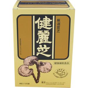 「送料無料」「ポイント10倍」AJD 健麗芝(けんれいし) 4粒×120袋(キノコ食品・健康食品)