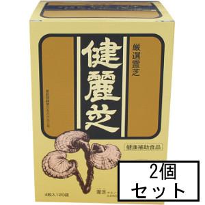 「送料無料」「ポイント10倍」AJD 健麗芝(けんれいし) 4粒×120袋×2個セット(キノコ食品・健康食品)