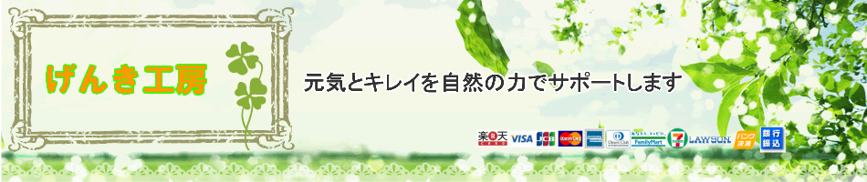 げんき工房:発酵や炭など日本の伝統的な自然の物を生かし皆様の元気とキレイをサポート