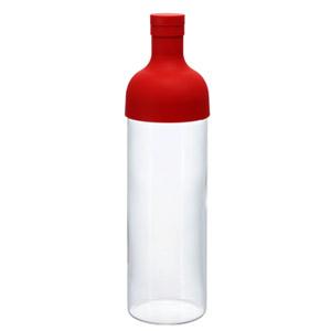 大人気のワイン型ボトル HARIO ハリオ 大注目 卓出 フィルターインボトル レッド エピガロカテキン EGC メール便不可 FIB-75-R 実容量750ml