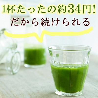 原田让茶四九州从绿色果汁粉类型 3 g × 20 蓇葖果