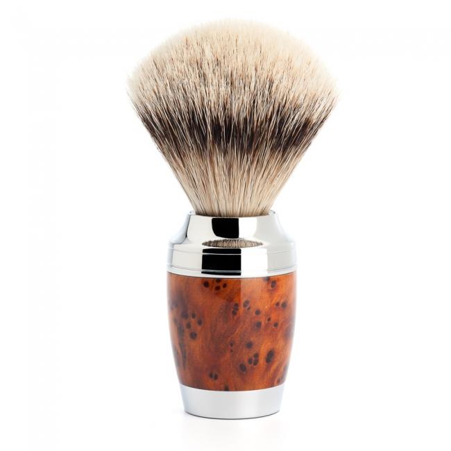 ミューレ STYLO シェービングブラシ/ツジャ・ウッド(091H71)【髭剃り ひげ剃り シェービングブラシ 髭ブラシ はけ アナグマ毛 男性化粧品 メンズスキンケア】