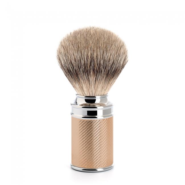 ミューレ TRADITIONAL シェービングブラシ/ローズゴールド (091M89ROSEGOLD)【髭剃り ひげ剃り シェービングブラシ 髭ブラシ はけ アナグマ毛 男性化粧品 メンズスキンケア】