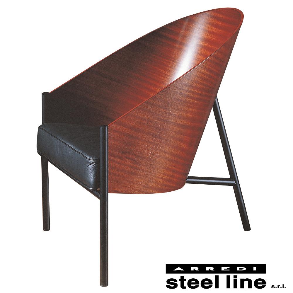 《100%MADE IN ITALY》フィリップ・スタルク プラットフォール(PRATFALL) スティールライン社DESIGN900