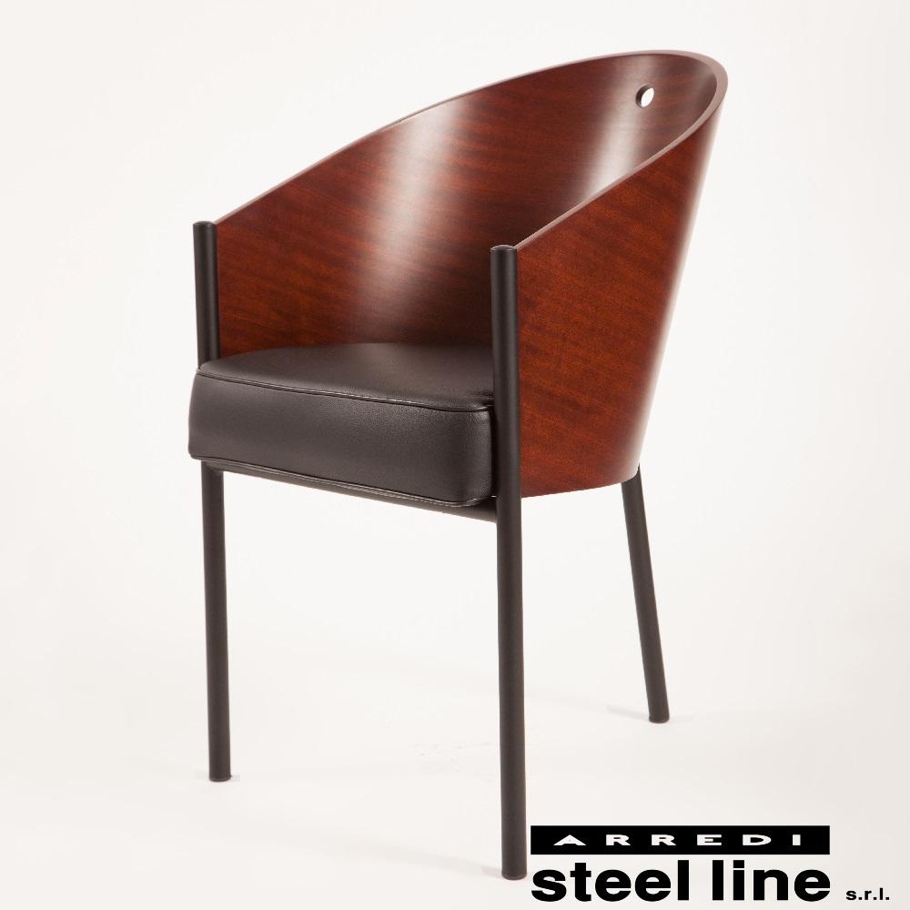 《100%MADE IN ITALY》フィリップ・スタルク コステス (COSTES)スティールライン社DESIGN900