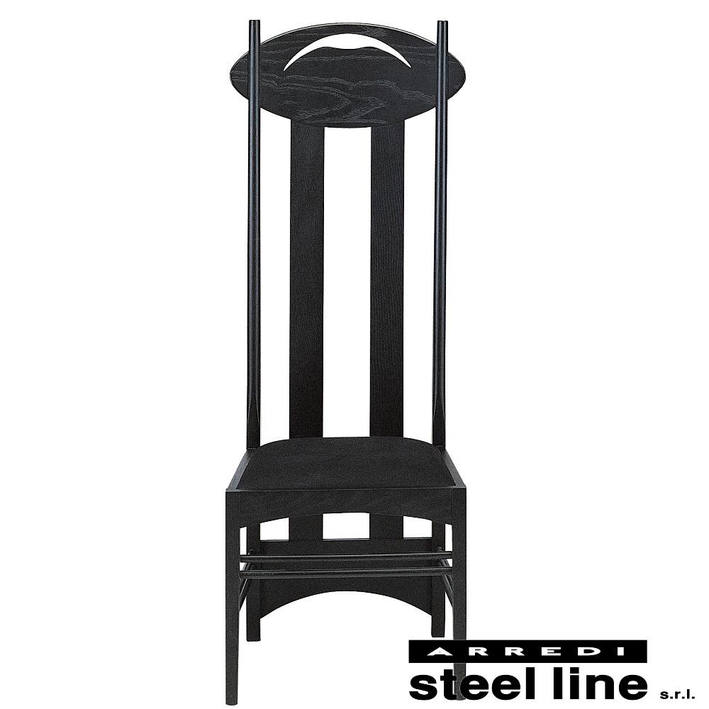 (お得な特別割引価格) 《100%MADE IN ITALY》チャールズ・レニー・マッキントッシュ Argyle Chair(アーガイルチェア) 本革仕様スティールライン社DESIGN900, ドリンク専門店 雫 55c8716f