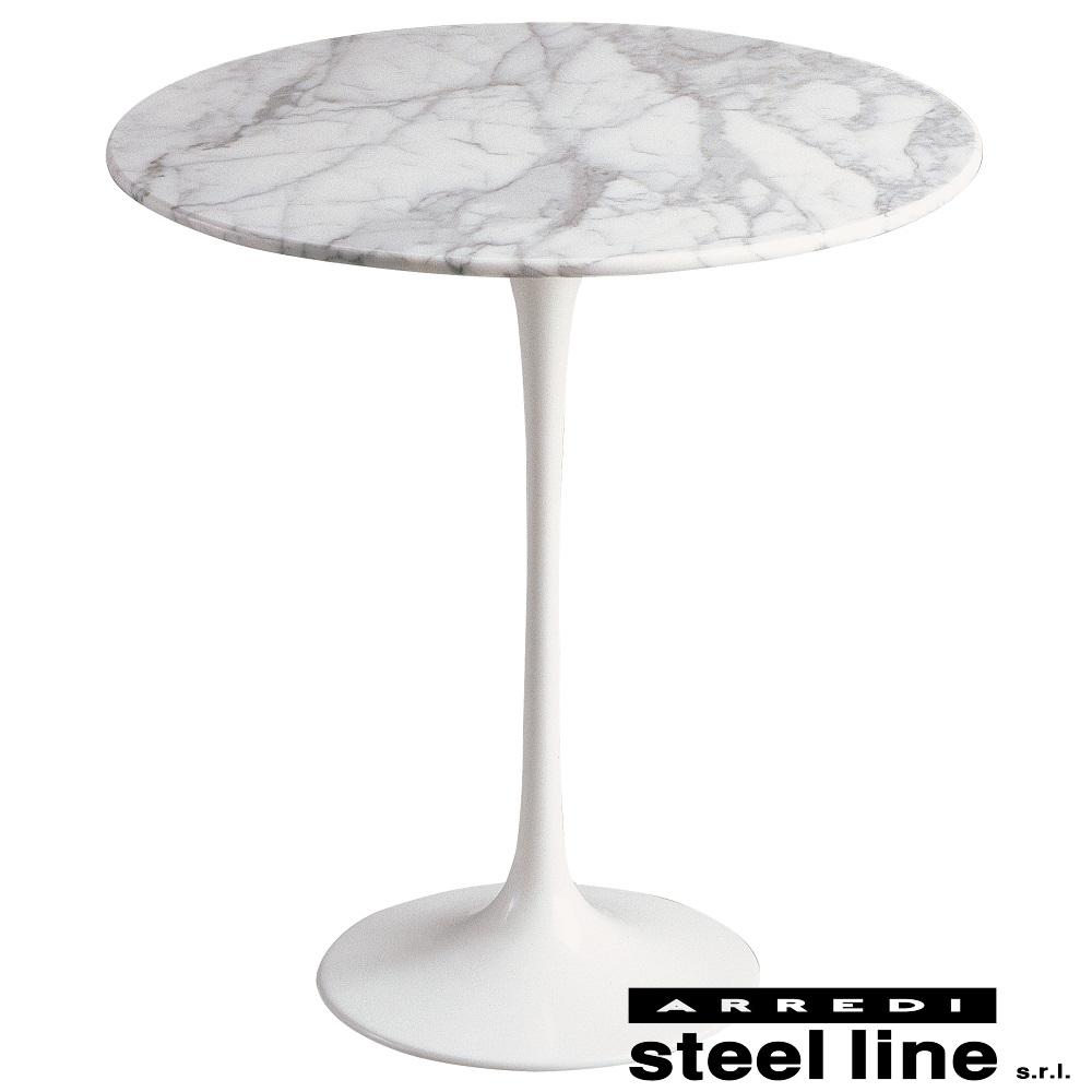 《100%MADE IN ITALY》エーロ・サーリネン チューリップサイドテーブル スティールライン社DESIGN900