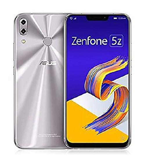 【中古】【安心保証】 SIMフリー ZenFone5z[128G] Sシルバー