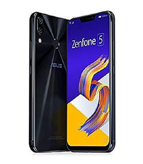 【中古】【安心保証】 SIMフリー ZenFone5_2018[64G/6G] ブラック