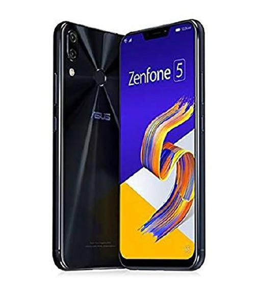 【中古】【安心保証】 SIMフリー ZenFone5_2018[64G/4G] ブラック