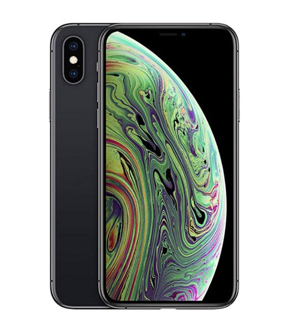 【中古】【安心保証】au iPhoneXS[64G] スペースグレイ