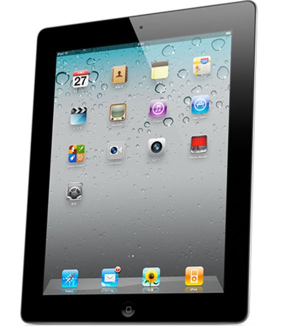 【中古】【安心保証】 iPad2[海外WiFi32GB] ブラック