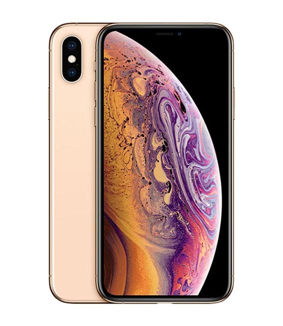 【中古】【安心保証】 au iPhoneXS[64G] ゴールド SIMロック解除済