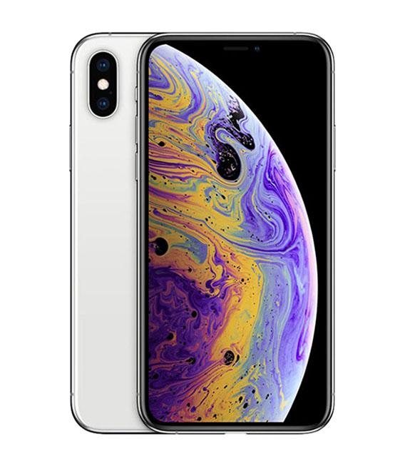 【中古】【安心保証】 au iPhoneXS[512G] シルバー