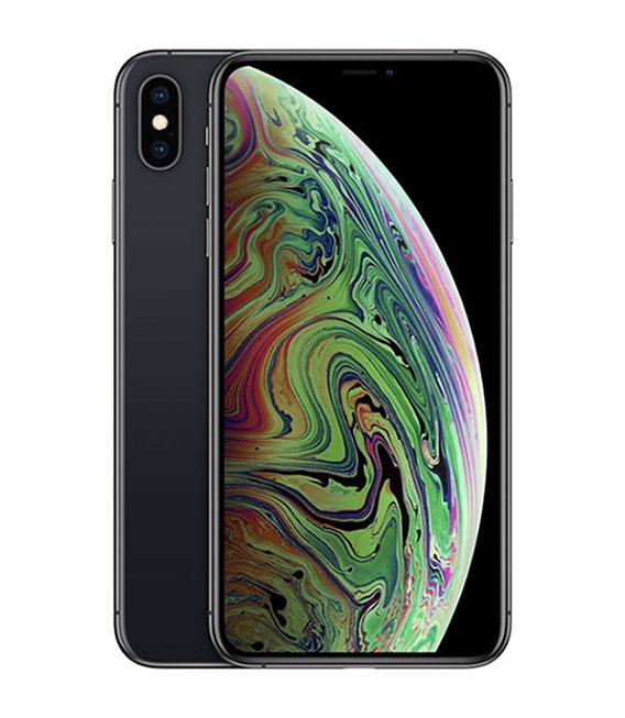 【中古】【安心保証】 SIMフリー iPhoneXSMax[64G] グレイ