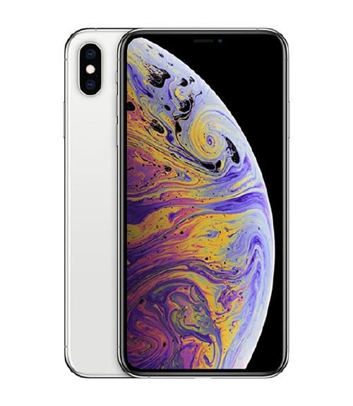 【中古】【安心保証】 au iPhoneXSMax[512G] シルバー