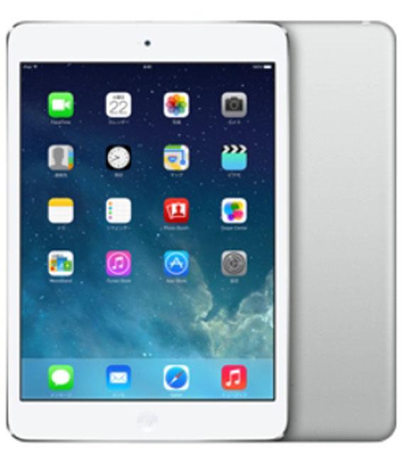 【中古】【安心保証】 au iPadmini2[セルラー128G] シルバー