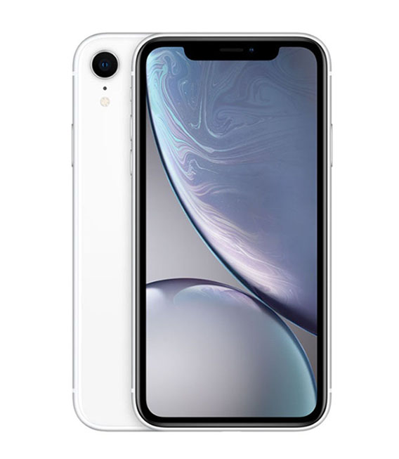 【中古】【安心保証】 SoftBank iPhoneXR[64G] ホワイト