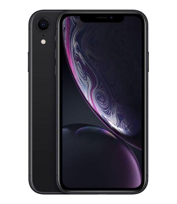【中古】【安心保証】 docomo iPhoneXR[128G] ブラック
