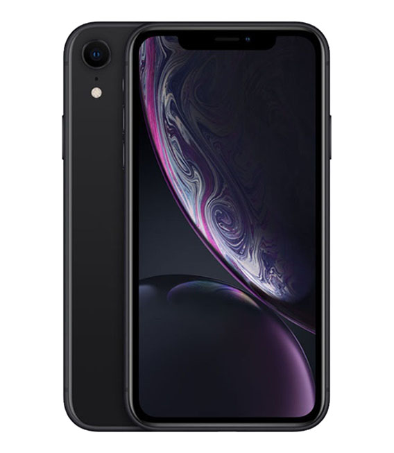 【中古】【安心保証】 SoftBank iPhoneXR[128GB] ブラック