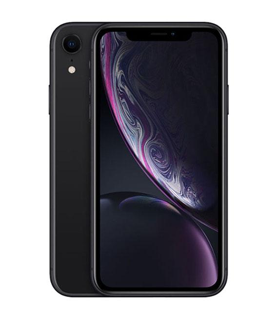 【中古】【安心保証】 SoftBank iPhoneXR[128G] ブラック SIMロック解除済