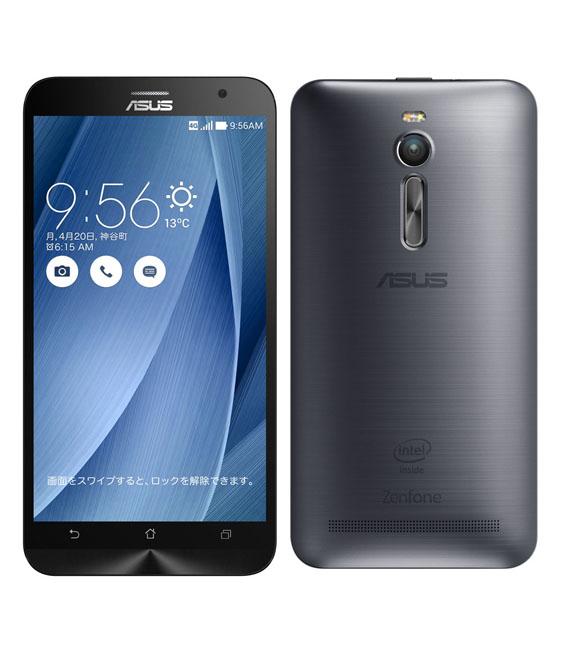 【中古】【安心保証】 SIMフリー ZenFone2[16GB] グレー