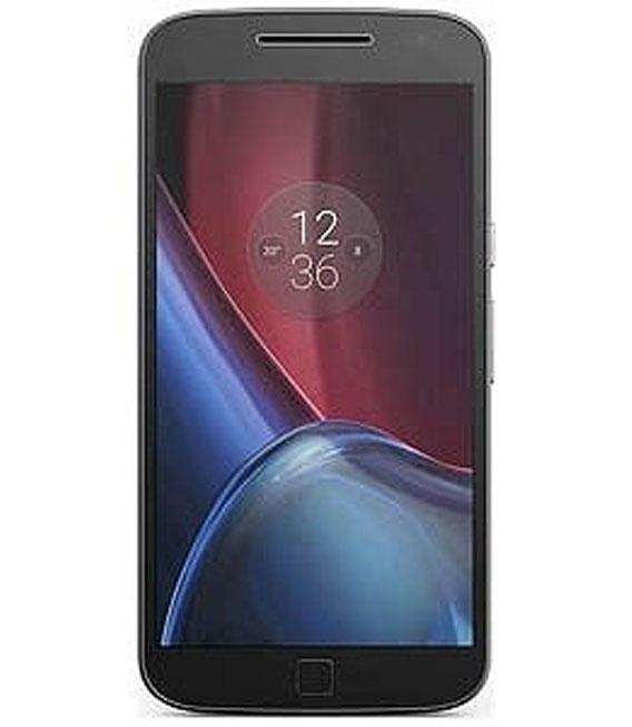 【中古】【安心保証】 SIMフリー MotoG4Plus[32GB] ブラック