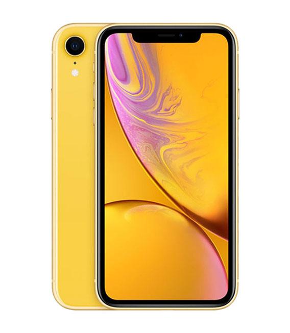 【中古】【安心保証】au iPhoneXR[64G] イエロー SIMロック解除済