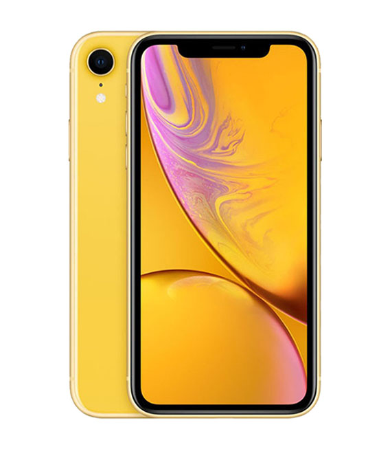 本体 白ロム iPhone Bランク エーユー 中古 イエロー 128G 激安超特価 安心保証 iPhoneXR メイルオーダー au SIMロック解除済