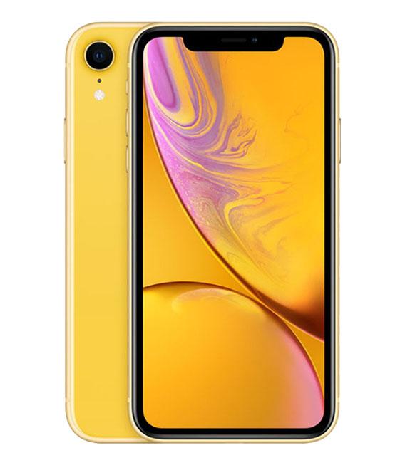 【中古】【安心保証】 SIMフリー iPhoneXR[256G] イエロー