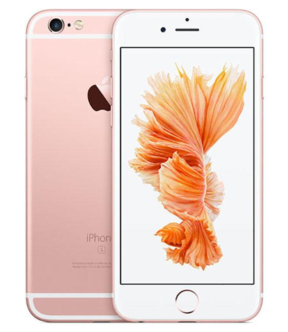 【中古】【安心保証】 SIMフリー iPhone6s[海外64G] ローズゴールド