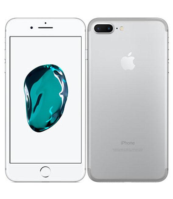 【中古】【安心保証】au iPhone7Plus[32G] シルバー SIMロック解除済