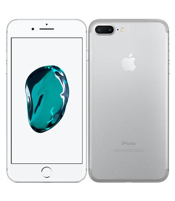 【中古】【安心保証】 docomo iPhone7Plus[128G] シルバー