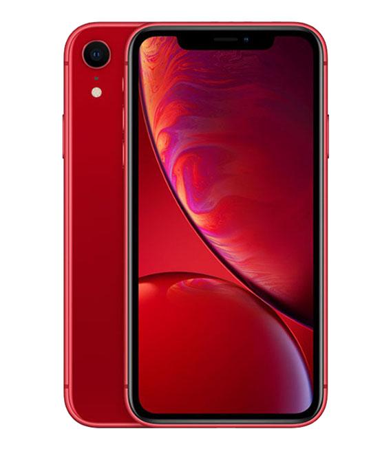 【中古】【安心保証】au iPhoneXR[64G] レッド SIMロック解除済