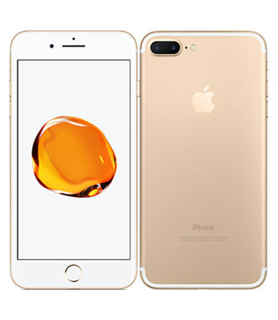 【中古】【安心保証】 SoftBank iPhone7Plus[128G] ゴールド