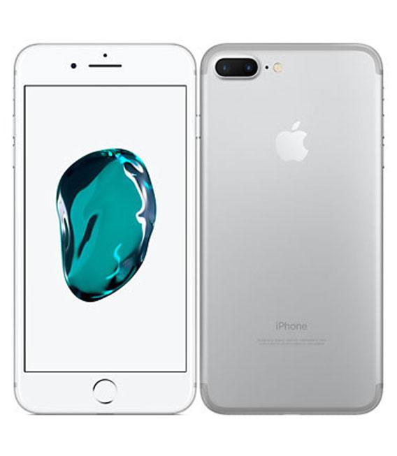 【中古】【安心保証】 SIMフリー iPhone7Plus[256G] シルバー
