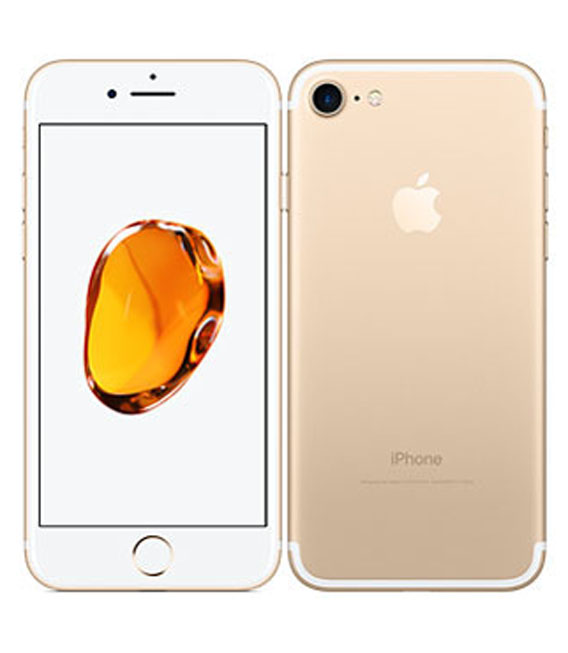 【中古】【安心保証】 iPhone7[32GB] docomo MNCG2J ゴールド