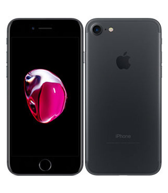 【中古】【安心保証】 SIMフリー iPhone7 32GB ブラック