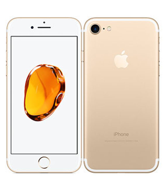 【中古】【安心保証】SIMフリー iPhone7 32GB ゴールド