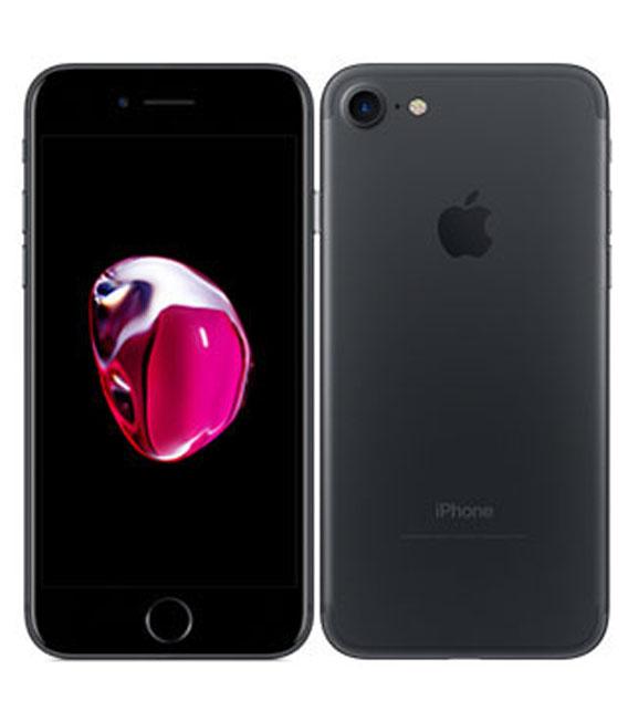 【中古】【安心保証】 SoftBank iPhone7 256GB ブラック