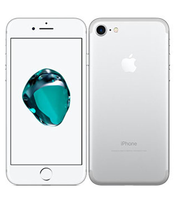 【中古】【安心保証】 SoftBank iPhone7[256G] シルバー