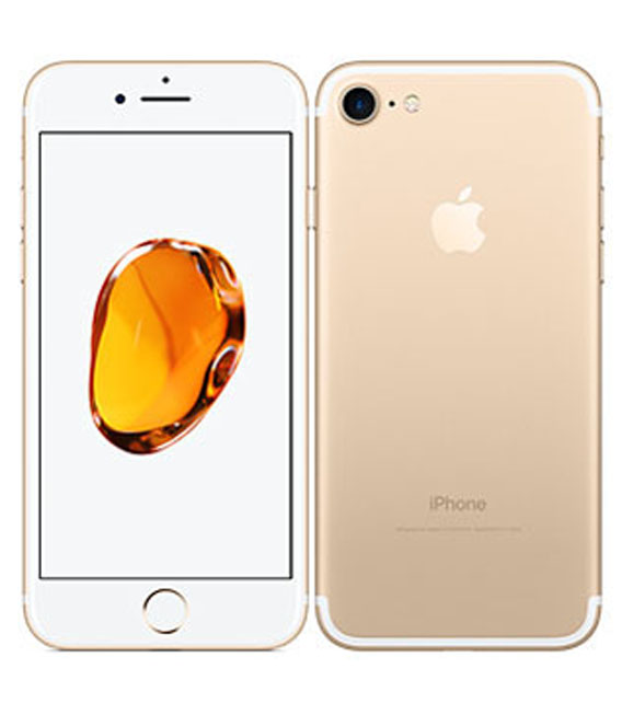 【中古】【安心保証】 SoftBank iPhone7[256G] ゴールド