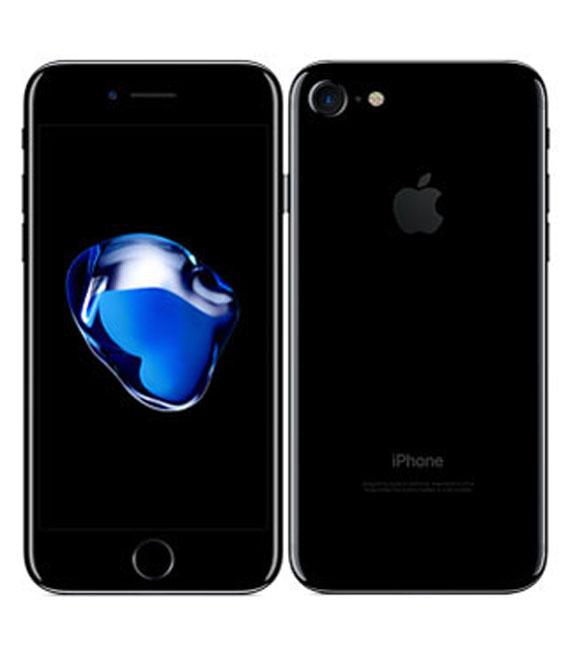 【お買い物マラソンポイント最大28倍】SIMフリー iPhone7 256GB ジェットブラック【中古】【安心保証】