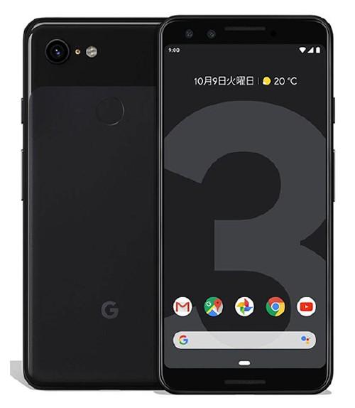 【中古】【安心保証】 SIMフリー Pixel 3[64G] ジャストブラック