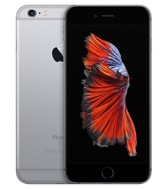 【中古】【安心保証】 SIMフリー iPhone6sPlus[海外64G] グレイ