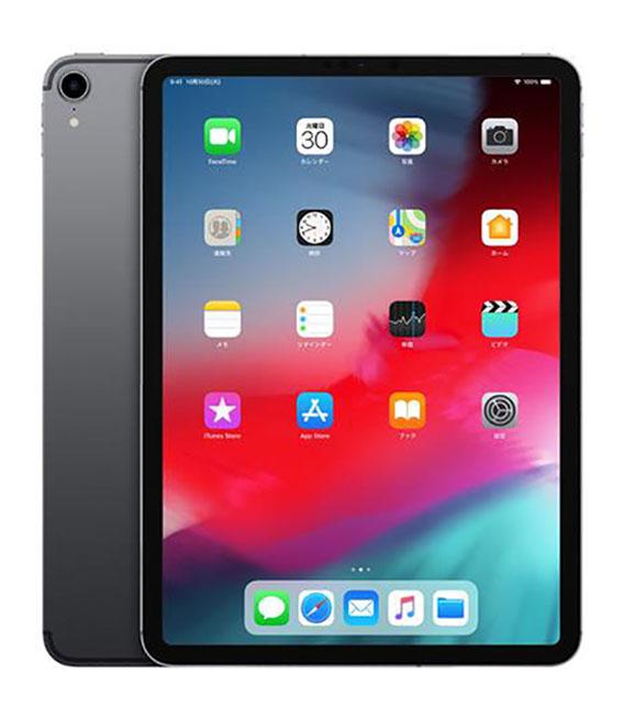 【中古】【安心保証】 au iPadPro 3ー11[セルラー1T] グレイ
