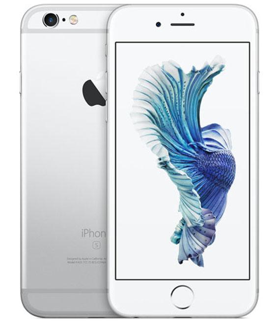 【中古】【安心保証】 au iPhone6s[32G] シルバー SIMロック解除済