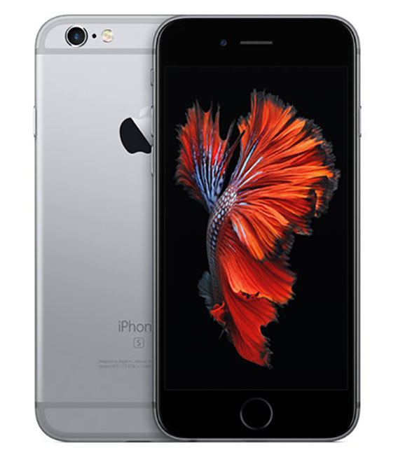 【中古】【安心保証】docomo iPhone6s[32G] スペースグレイ